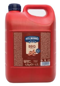 Hellmann's Sos Barbeque 4.8 Kg - Ingredient la pregatirea altor sosuri, potrivit pentru a da o nota de originalitate preparatelor tale.