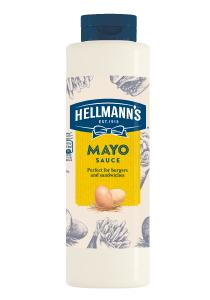 """Hellmann's Sos de maioneza 850 ml - Sosurile """"One Hand"""" de la Hellmann's, alegerea mea pentru preparatele Street Food."""