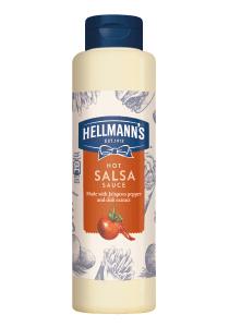 """Hellmann's Sos Salsa Iute 850 ml - Sosurile """"One Hand"""" de la Hellmann's, alegerea mea pentru preparatele Street Food."""