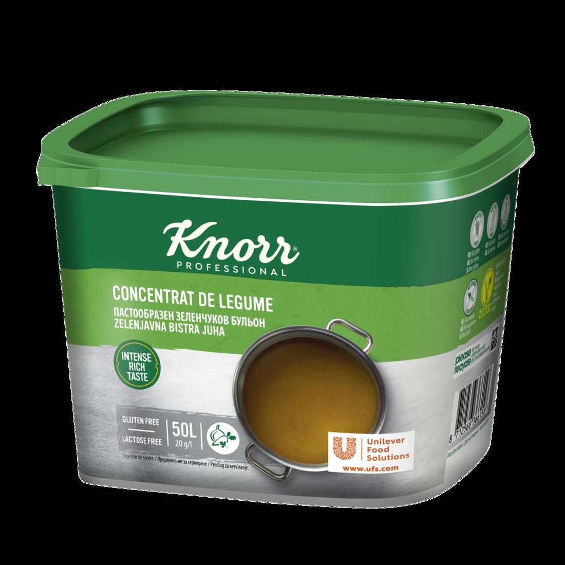 Knorr Concentrat de legume
