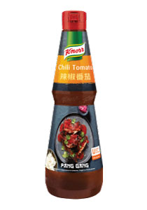 Knorr Sos picant cu chili si rosii