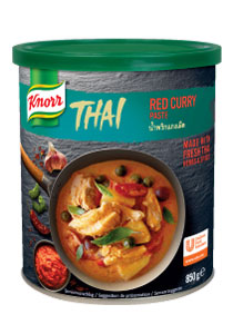 Knorr Thai Curry Rosu
