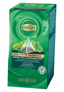 Lipton Ceai Verde cu Menta 25 plicuri - Lipton Exclusive Selection ofera o mare varietate de amestecuri pentru a permite oaspetilor tai sa se bucure de o cana de ceai in orice moment al zilei.