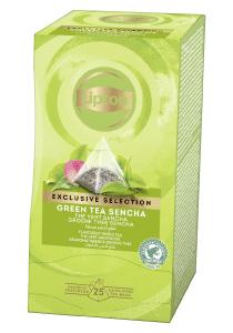 Lipton Ceai Verde Sencha 25 plicuri - Lipton Exclusive Selection ofera o mare varietate de amestecuri pentru a permite oaspetilor tai sa se bucure de o cana de ceai in orice moment al zilei.