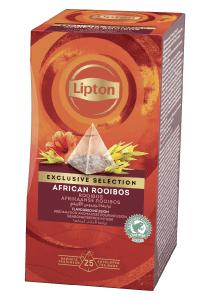 Lipton Piramida Rooibos 25 plicuri - Lipton Exclusive Selection ofera o mare varietate de amestecuri pentru a permite oaspetilor tai sa se bucure de o cana de ceai in orice moment al zilei.