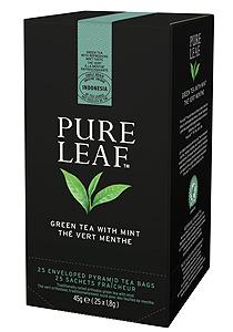 Pure Leaf Ceai verde cu menta 25 plicuri - O experienta exceptionala a ceaiului incepe cu o simpla frunza. Si se incheie cu o servire impecabila.