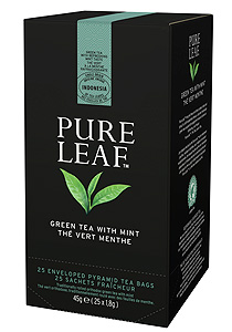 Pure Leaf Ceai verde cu menta 25 plicuri