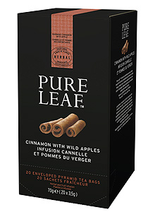 Pure Leaf Mar si scortisoara 20 plicuri - O experienta exceptionala a ceaiului incepe cu o simpla frunza. Si se incheie cu o servire impecabila.