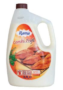 Rama Combi Profi - Cu 80% mai putina grasime versus metoda traditionala de prajire.