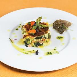 Lasagna cu somon