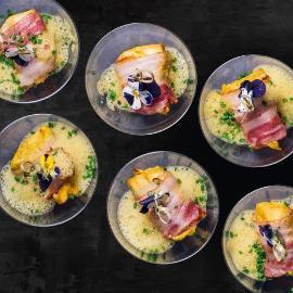 Satay de pui thai curry