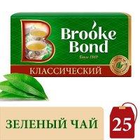 BROOKE BOND зеленый чай в пакетиках Классический (25шт)