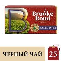 BROOKE BOND черный чай в пакетиках Высокогорный (25шт)