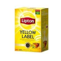 LIPTON черный чай листовой Yellow Label (100гр)