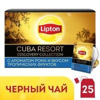 LIPTON Discovery Collection черный чай в сашетах Cuba Resort (25шт)