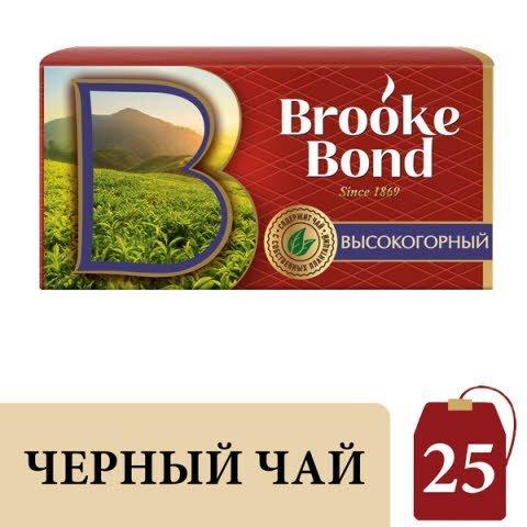 Brooke Bond черный чай Высокогорный  в индивидуальных конвертах, 25 шт
