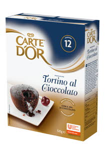 CARTE D'ORE Шоколадный фондан (0,52кг)