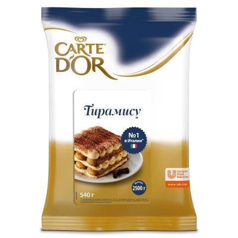 Carte D'Or Десерт Тирамису, 540 гр