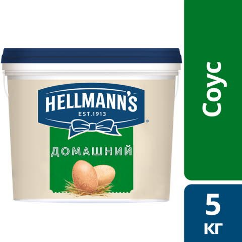 HELLMANN'S Майонезный соус Домашний (5кг) -