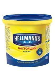 "HELLMANN'S ""Настоящий"" майонез 78% жирности (944кг/2,4кг/5кг)"