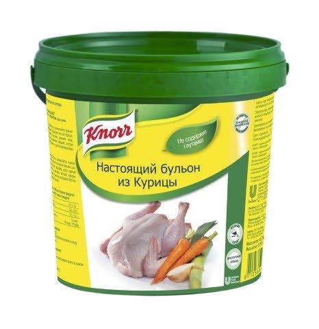 KNORR Настоящий бульон из курицы (0,75кг)