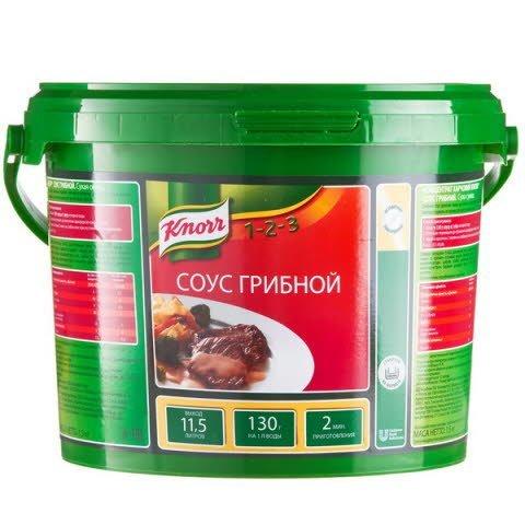 KNORR Соус Грибной Сухая смесь (1,5кг) -