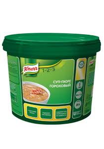 KNORR Суп-пюре гороховый (1,8кг)