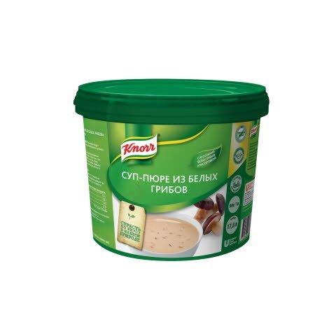 KNORR Суп-пюре из белых грибов Сухая смесь (1,4кг) -