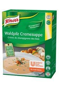 KNORR Суп-пюре из лесных грибов Сухая смесь (1,5кг) -