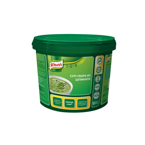 KNORR Суп-пюре из шпината (1,6 кг)