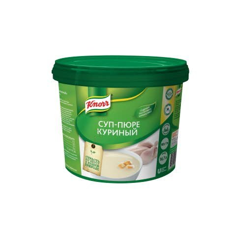 KNORR Суп-пюре куриный (1,5кг)
