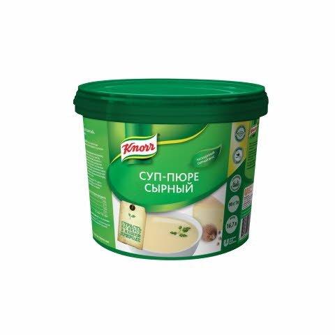 KNORR Суп-пюре Сырный Сухая смесь (1,5кг) -