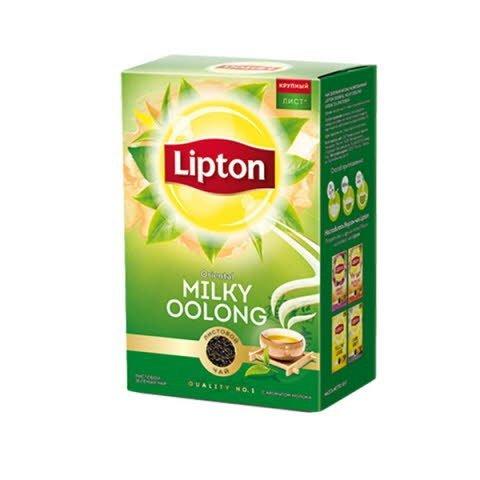 LIPTON зеленый чай листовой Oriental Milky Oolong (85гр) -