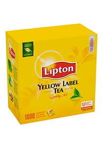 Lipton Yellow Label черный чай в индивид. конвертах, 1000 пак.