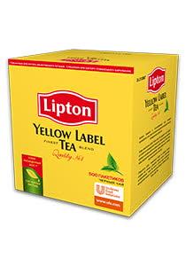 Lipton Yellow Label черный чай, 500 пак.
