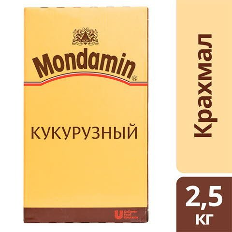 MONDAMIN Кукурузный крахмал (2,5кг)