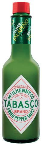 TABASCO® Зеленый Перечный соус (60мл/150мл)