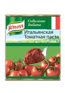 Итальянская томатная паста (0,8кг) - Итальянская томатная паста KNORR – всегда густая консистенция и насыщенный цвет.