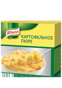 Пюре картофельное (2кг/8кг) - Картофельное пюре KNORR изготовлено в Германии из отборного картофеля.