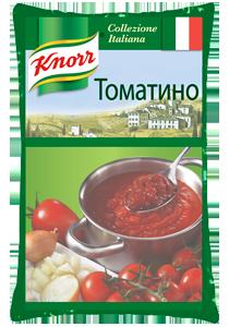 Томатино (3кг) - KNORR Томатино - томатный соус с протертыми томатами.