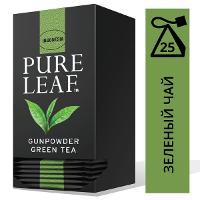 PURE LEAF зеленый чай в пакетиках Gunpowder (25шт)