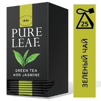 PURE LEAF зеленый чай в пакетиках Jasmine (25шт)