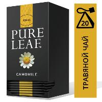 PURE LEAF травяной напиток в пакетиках Camomile (20шт)