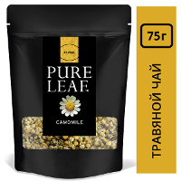 PURE LEAF травяной напиток Camomile (75г)