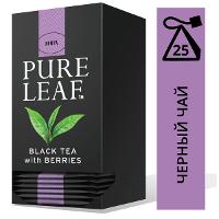 PURE LEAF черный чай в пакетиках Berries (25шт)