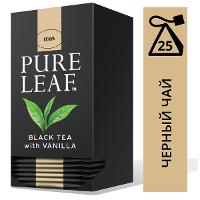 PURE LEAF черный чай в пакетиках Vanilla (25шт)
