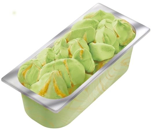 Carte D'Or Замороженный десерт Матча-Манго (2960г) - База - пюре манго индийских и тайских сортов
