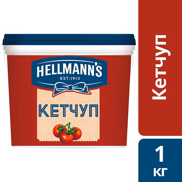 Hellmann's Кетчуп томатный, 1 кг - Unilever Food Solution. Новая линейка соусов Hellmann's