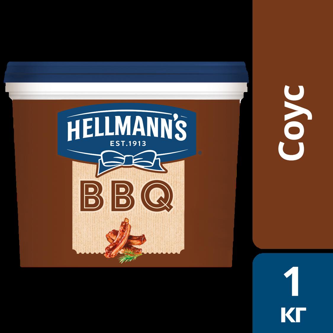 HELLMANN'S Соус Барбекю (1кг) - Unilever Food Solution. Новая линейка соусов Hellmann's