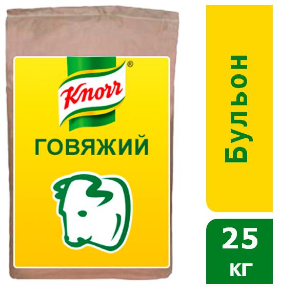 KNORR Бульон говяжий Сухая смесь (25кг) - Бульоны KNORR придадут Вашим блюдам насыщенный вкус и аромат.